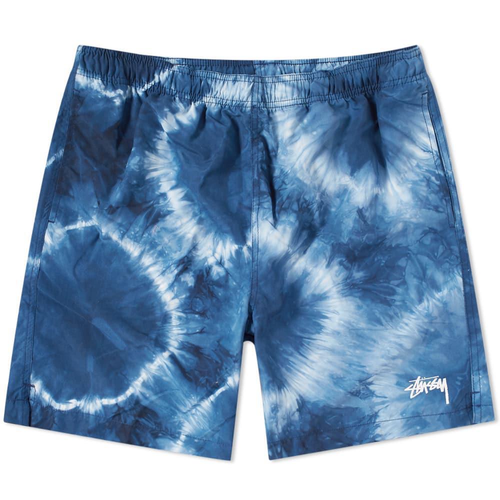 4e52f526cd18e Stussy Tie Dye Water Short in Blue for Men - Lyst