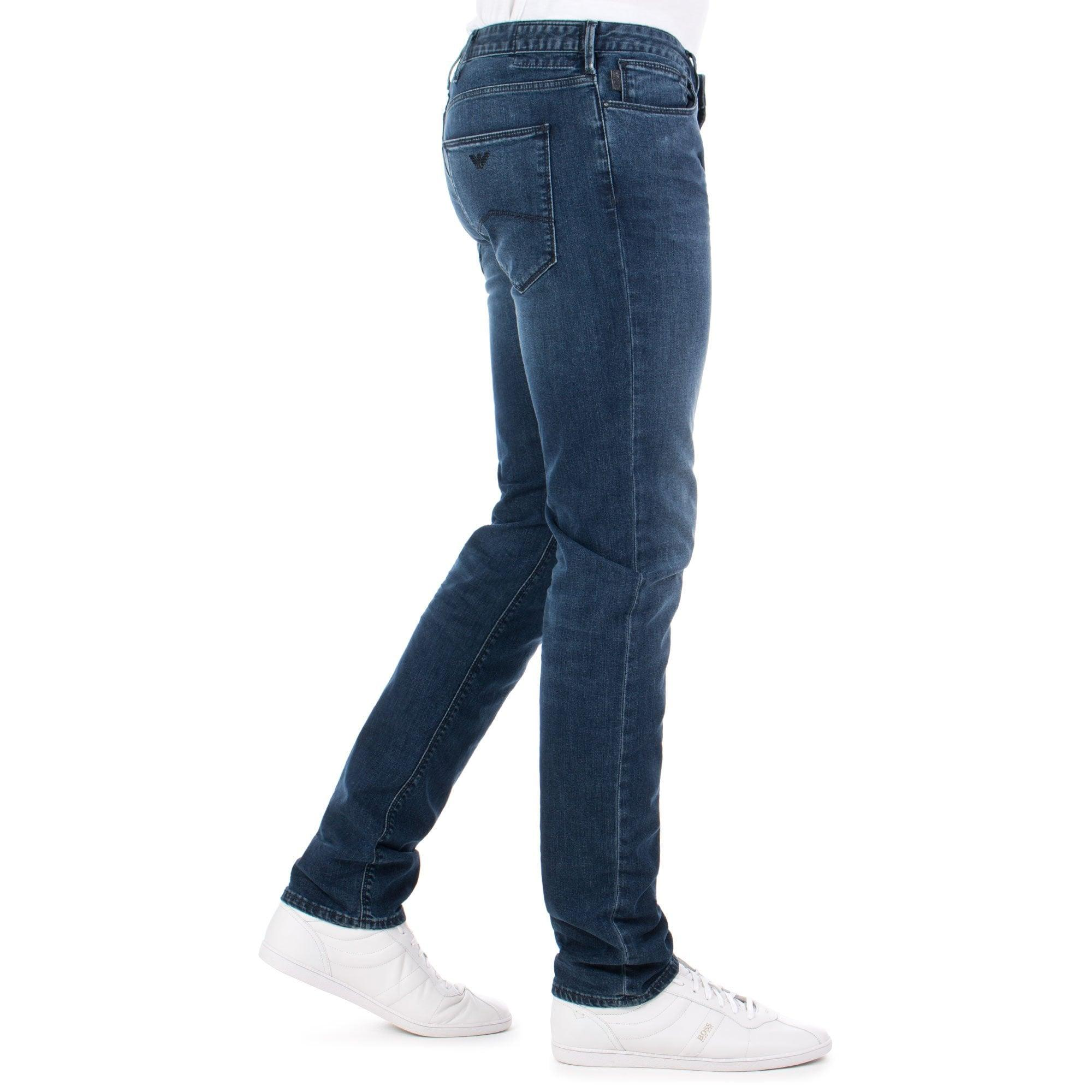 a5c5eae0 Emporio Armani J06 Slim Fit Jeans in Blue for Men - Lyst