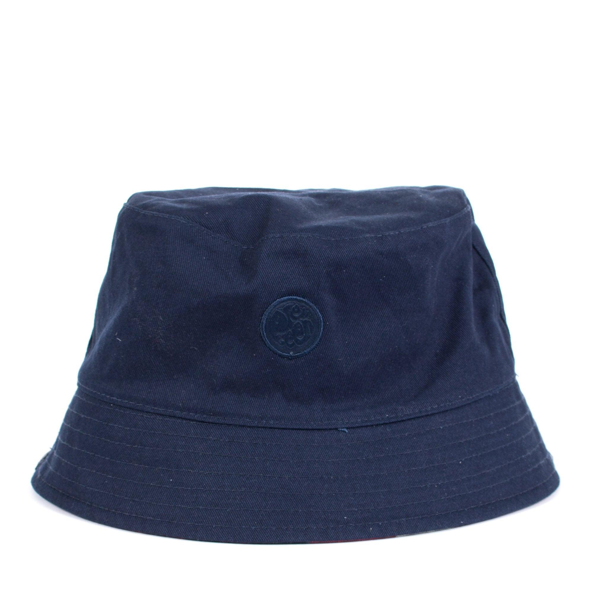 18b71f0d Lyle & Scott - Blue Reversible Union Jack Bucket Hat for Men - Lyst. View  fullscreen