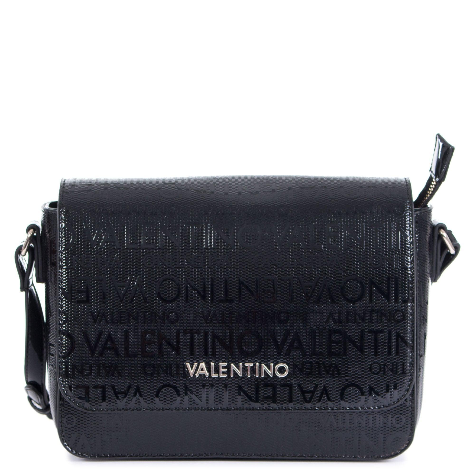 c02dc30621a5 Valentino By Mario Valentino Clove Logo Cross Body in Black - Lyst