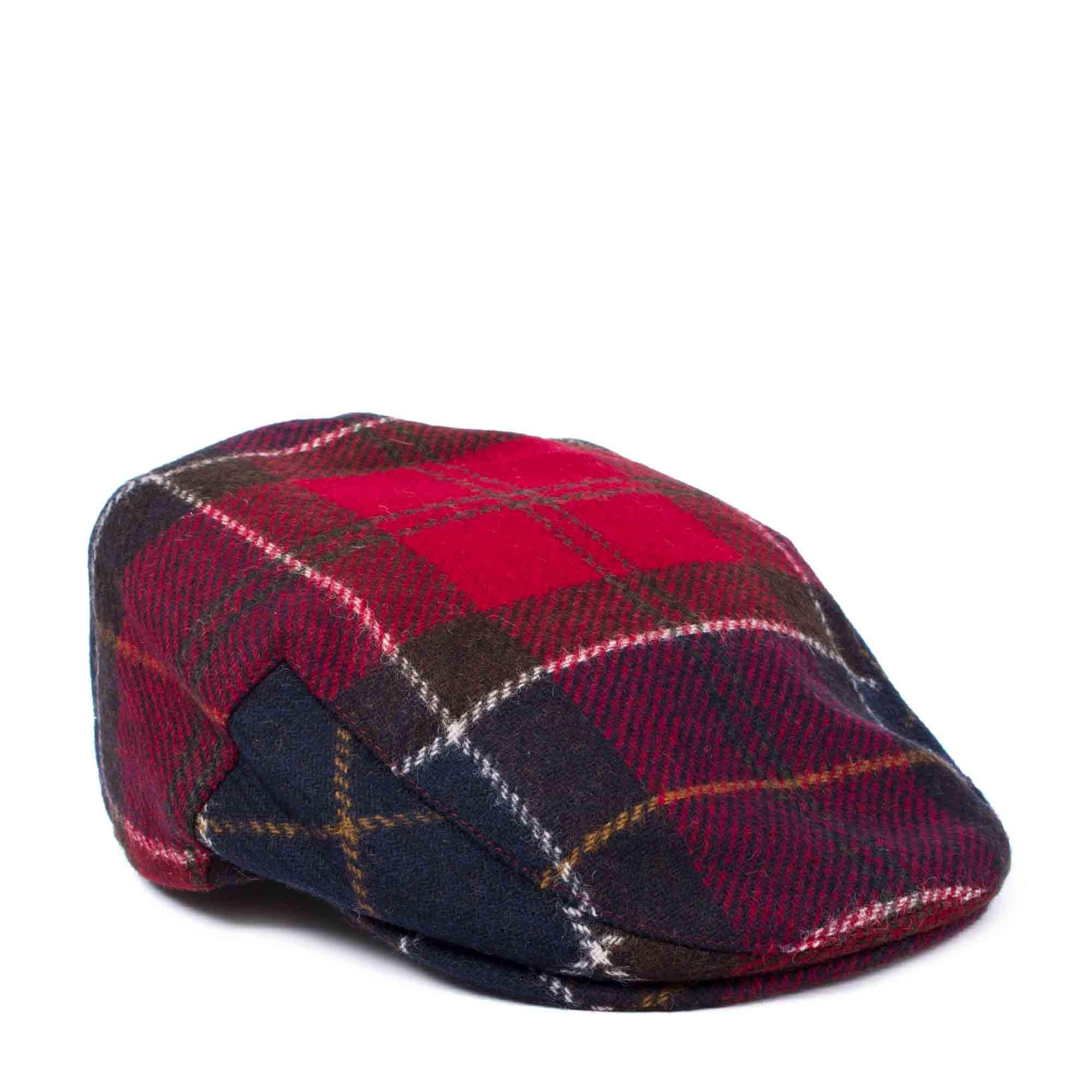 421cb96f Barbour Moons Tweed Cap in Red for Men - Lyst