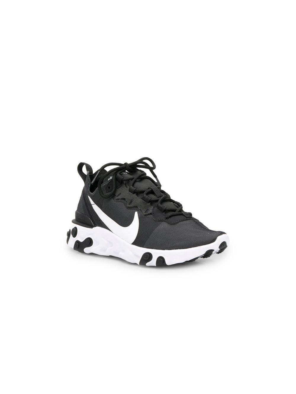 cac1a6d2224 Nike React Element 55 Sneakers in Black - Save 6% - Lyst