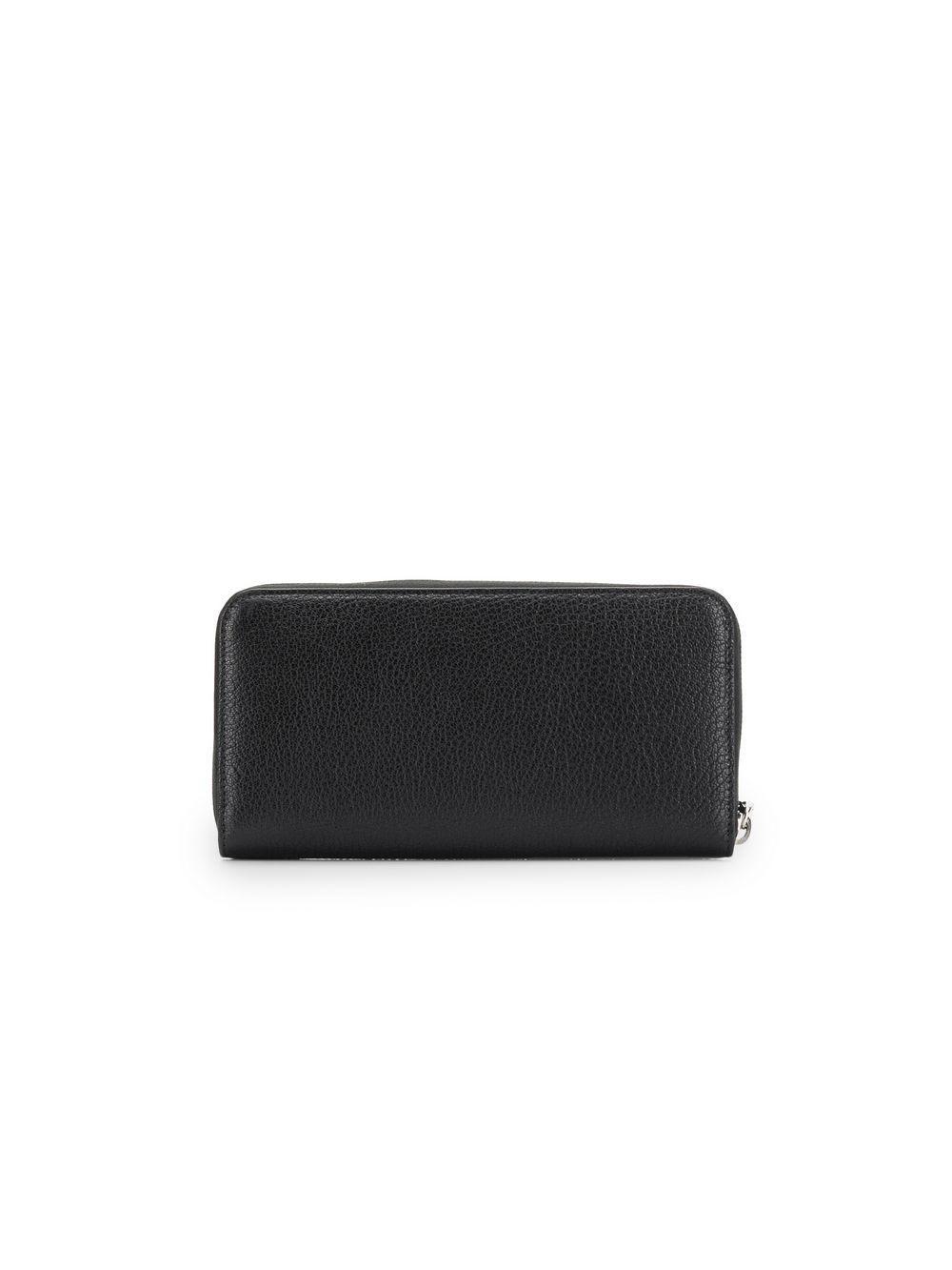 13e837c72cf6 Lyst - Miu Miu Madras Zip-around Wallet in Black - Save 27%