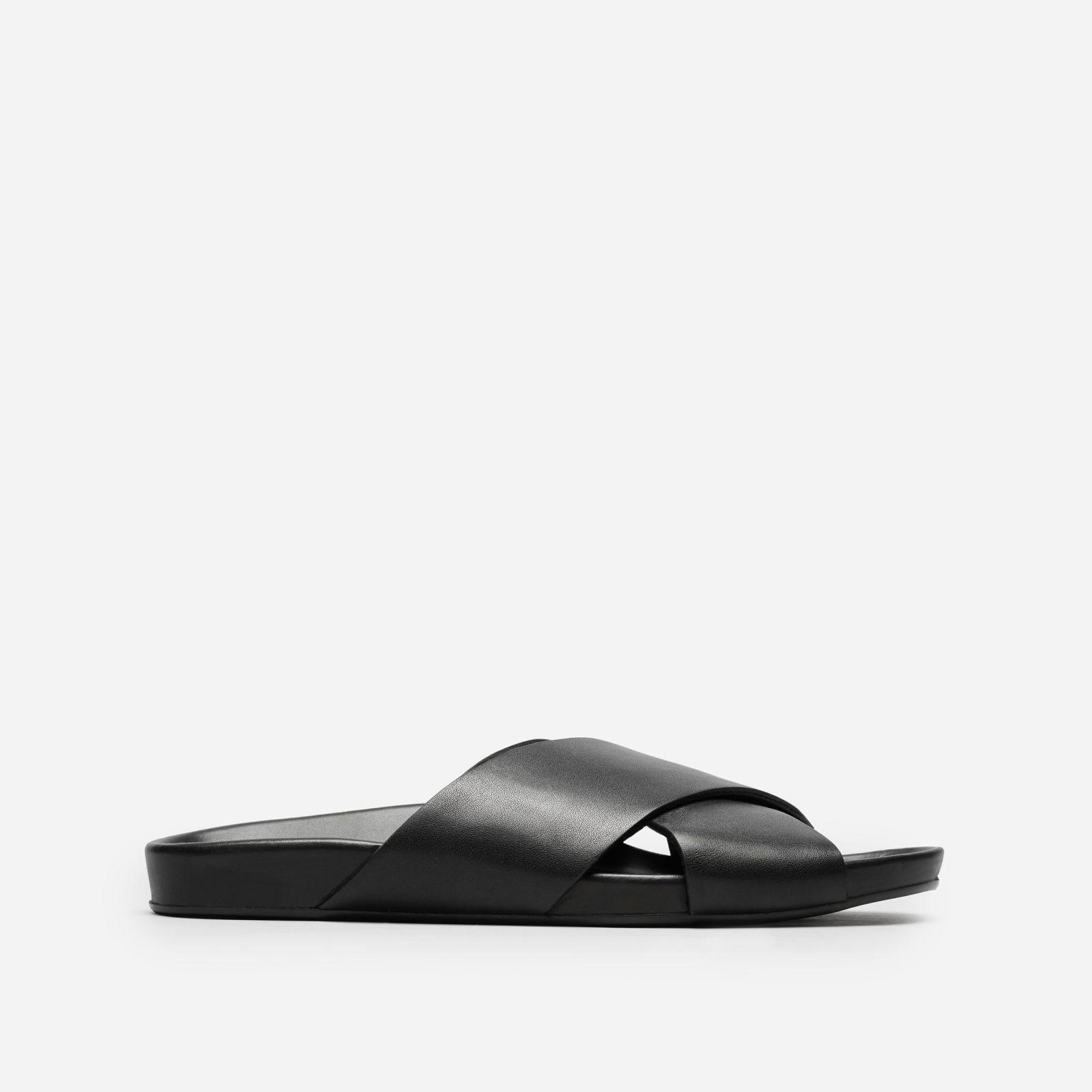 c1155e2bbf9 Everlane - Black The Form Crossover Sandal - Lyst. View fullscreen