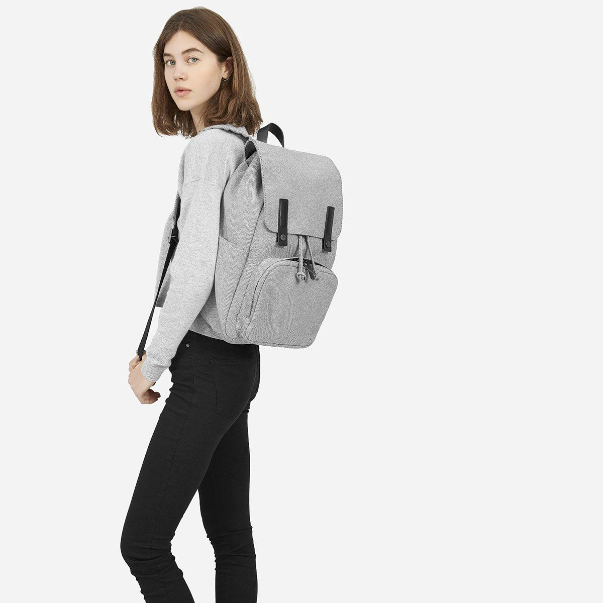 c456625d6a Lyst - Everlane The Modern Snap Backpack in Black
