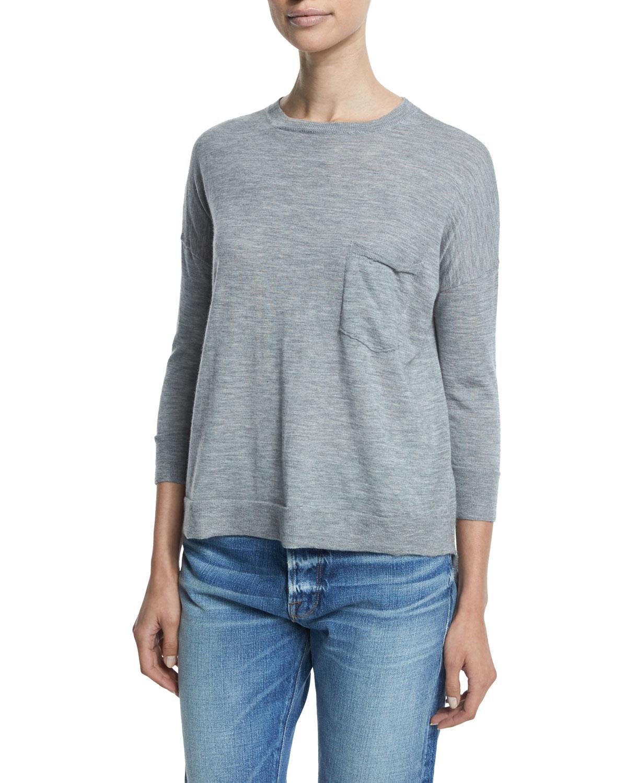 Cheap Sale Best Store To Get With Paypal Online Frame Denim Frame Crew Sweatshirt - Noir CWnrQ1