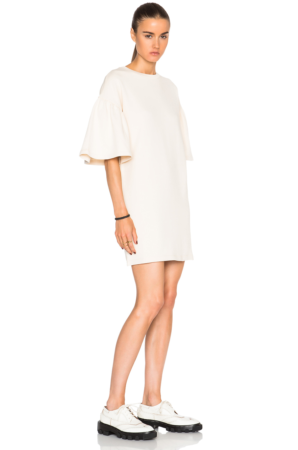 015d85e3142e MM6 by Maison Martin Margiela Puff Sleeve Sweatshirt Dress in ...