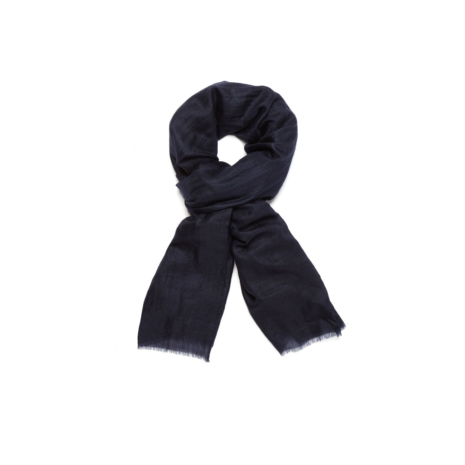theory novelty scarf in feather in blue lyst