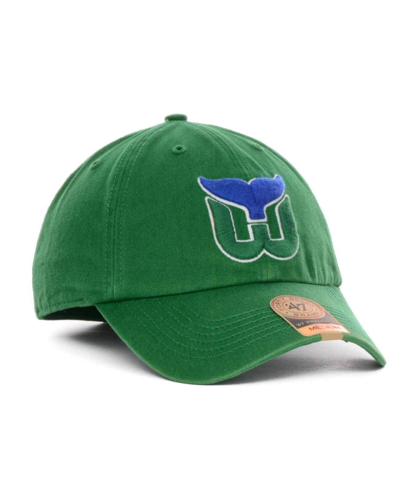 Lyst - 47 Brand Hartford Whalers Vintage Franchise Cap in Green for Men f30bb7d1b59