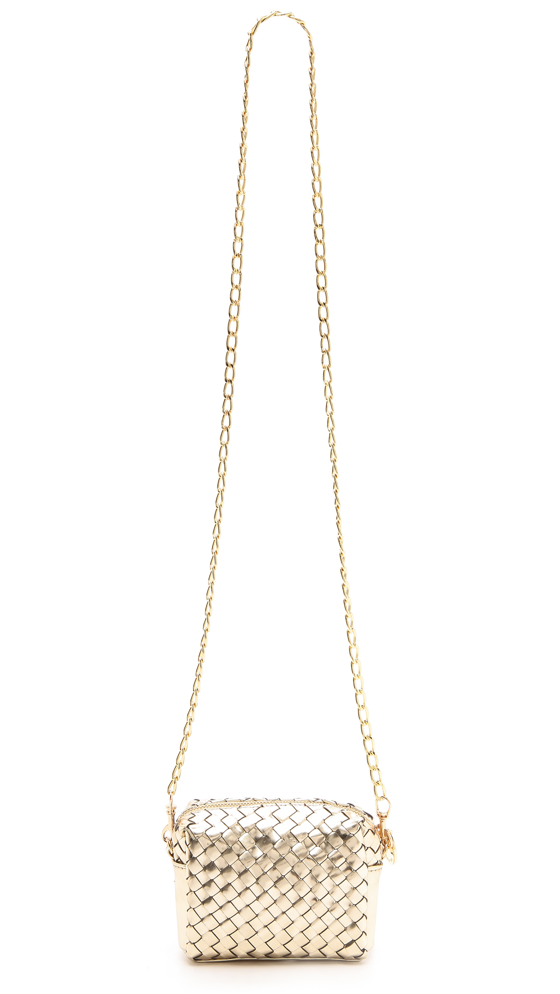Deux Lux Sunset Mini Cross Body Bag Gold In Metallic Lyst