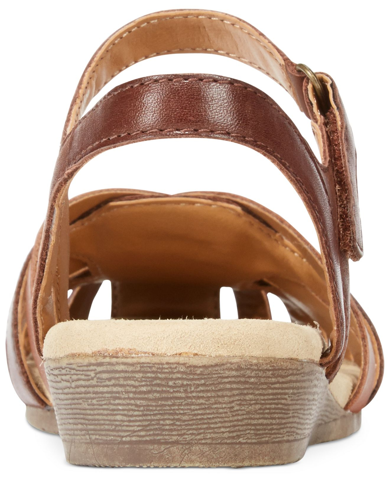 027df5aa1e7 Lyst - Clarks Collection Women S Jaina Stafford Flat Sandals in Brown