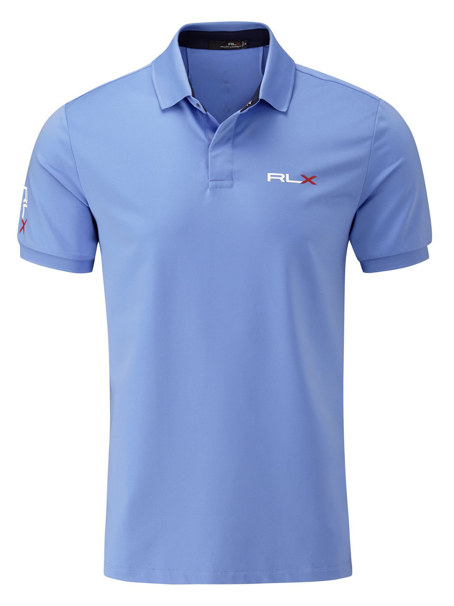 Ralph Lauren Golf Solid Polo Shirt Tour Fit In Blue For