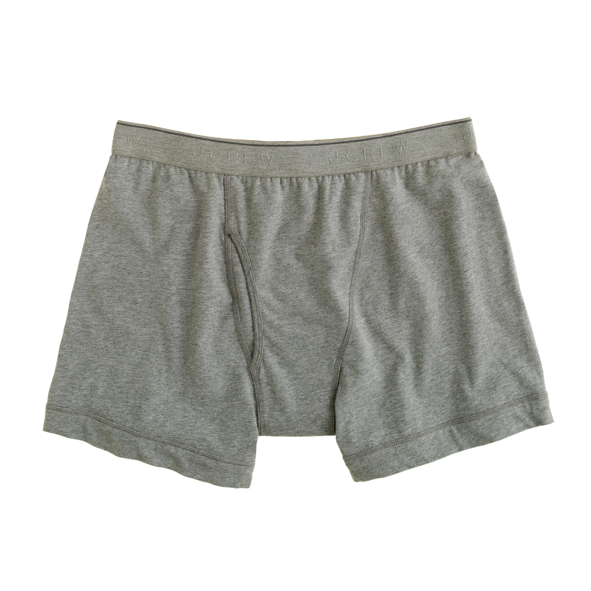 Free Knitting Pattern For Elephant Boxer Shorts : J.crew Knit Boxer Briefs in Gray for Men (hthr graphite) Lyst