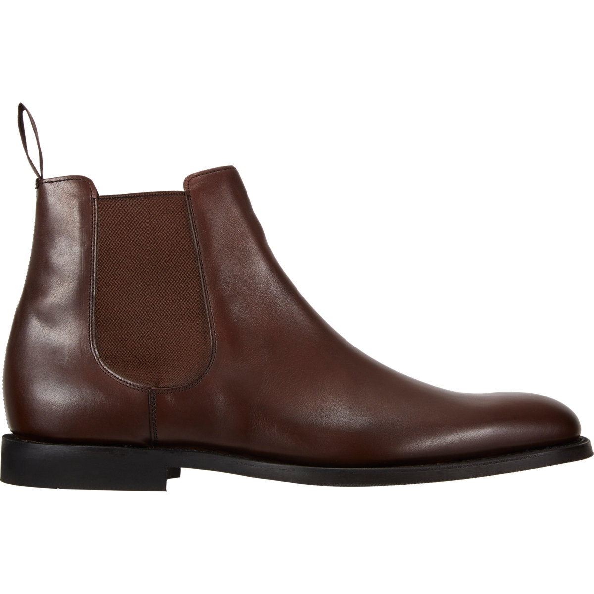 church 39 s ely plain toe chelsea boots in brown for men lyst. Black Bedroom Furniture Sets. Home Design Ideas