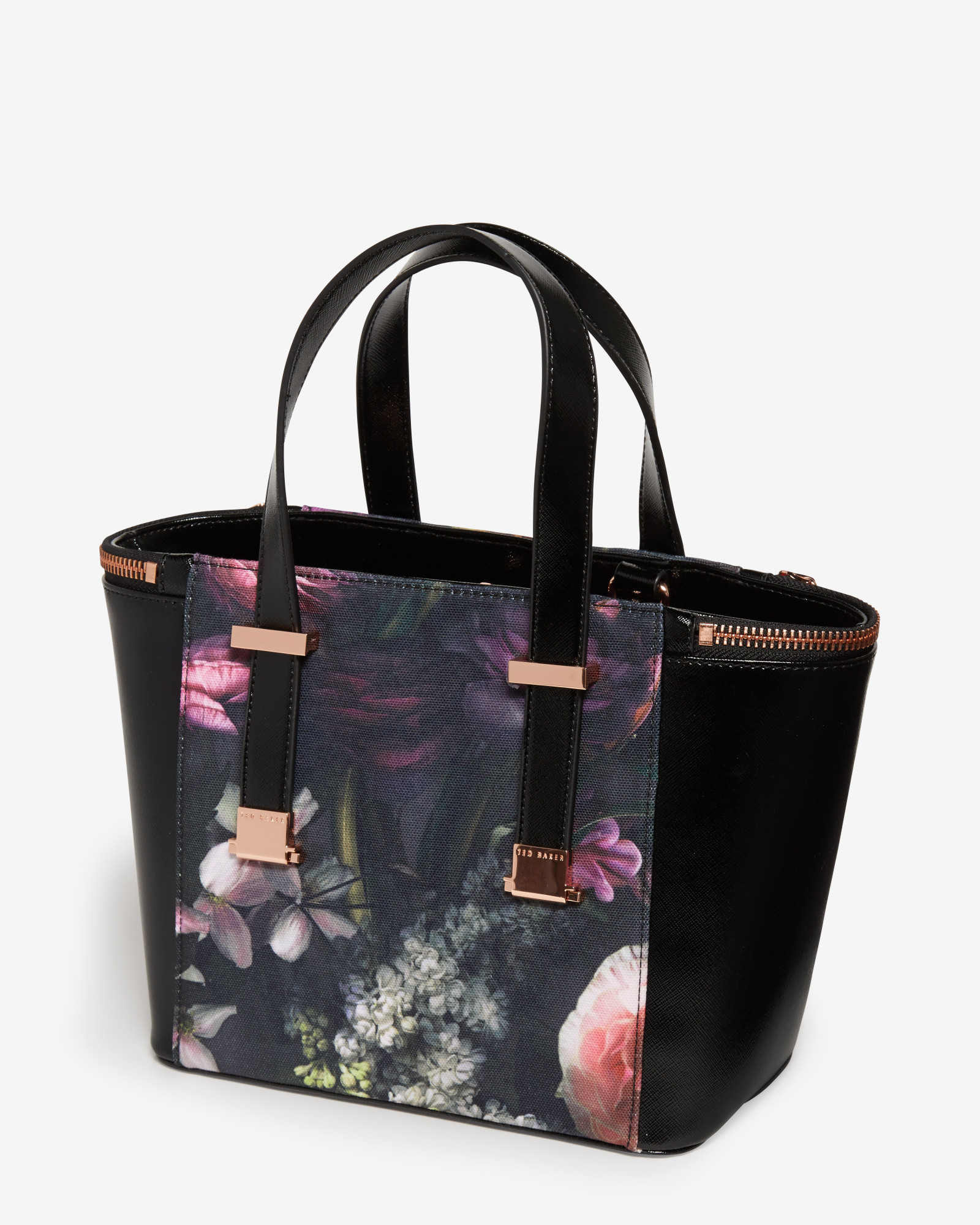 b7eefad05 Ted Baker Black Purse With Flowers Best Image Ccdbb. Bow Detail Leather Per  Bag. Women S Bags Handbags ...