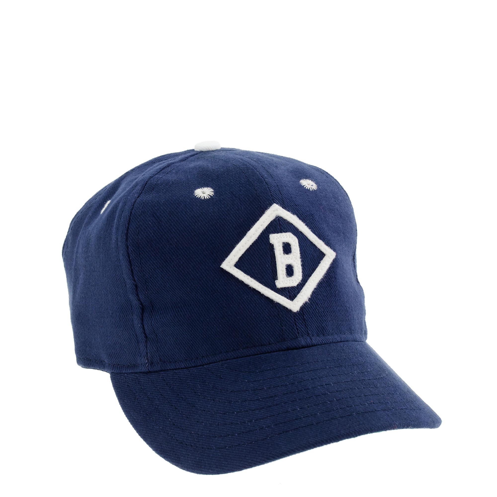 J Crew Ebbets Field Flannels Bismarck Churchills Ball Cap
