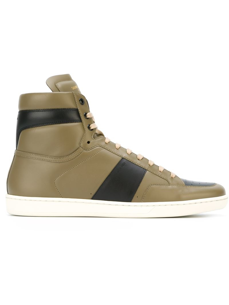 Court Classic sneakers - Green Saint Laurent RJG0cxUrs
