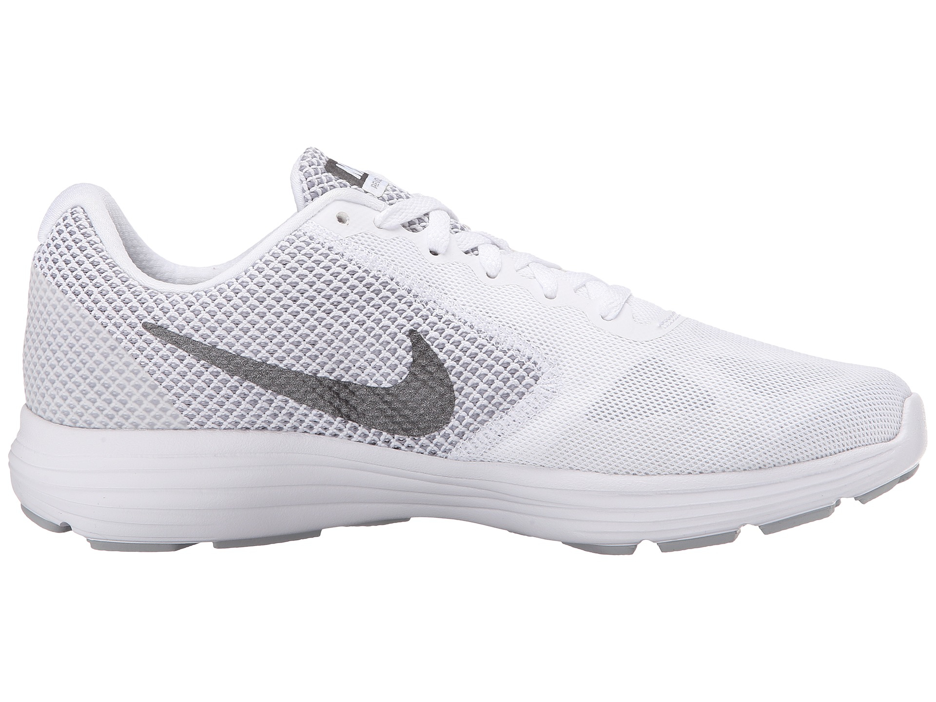 Nike Revolution 3 in White | Lyst