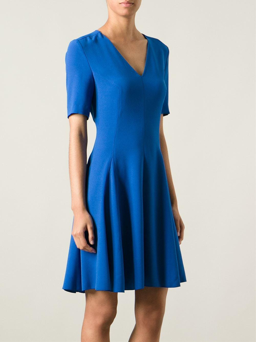 Lyst Joseph Alex Dress In Blue