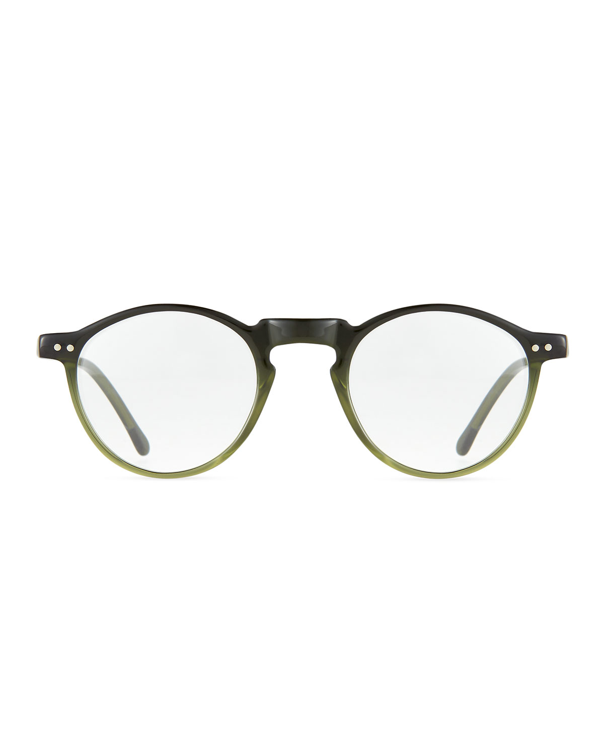 Illesteva Capri Round Optical Frames W/ Clip-on Sunglasses ...