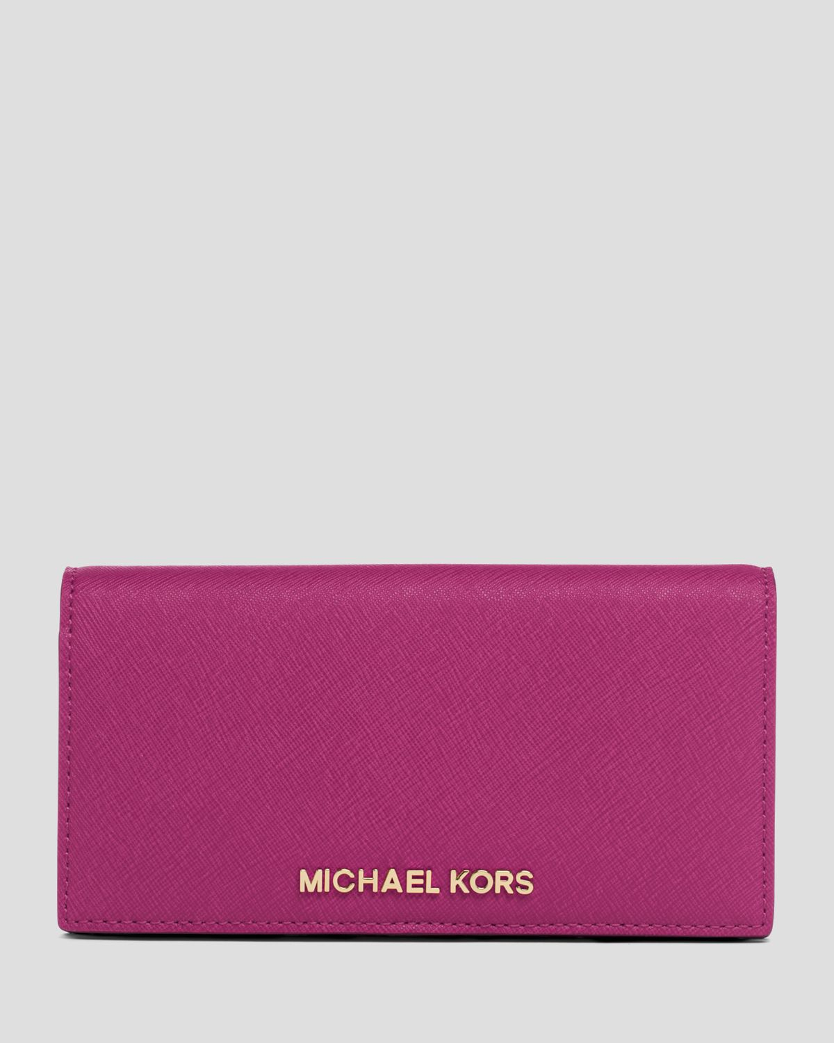 318cc80b533f ... Michael michael kors Wallet - Large Slim Continental Snap in ...