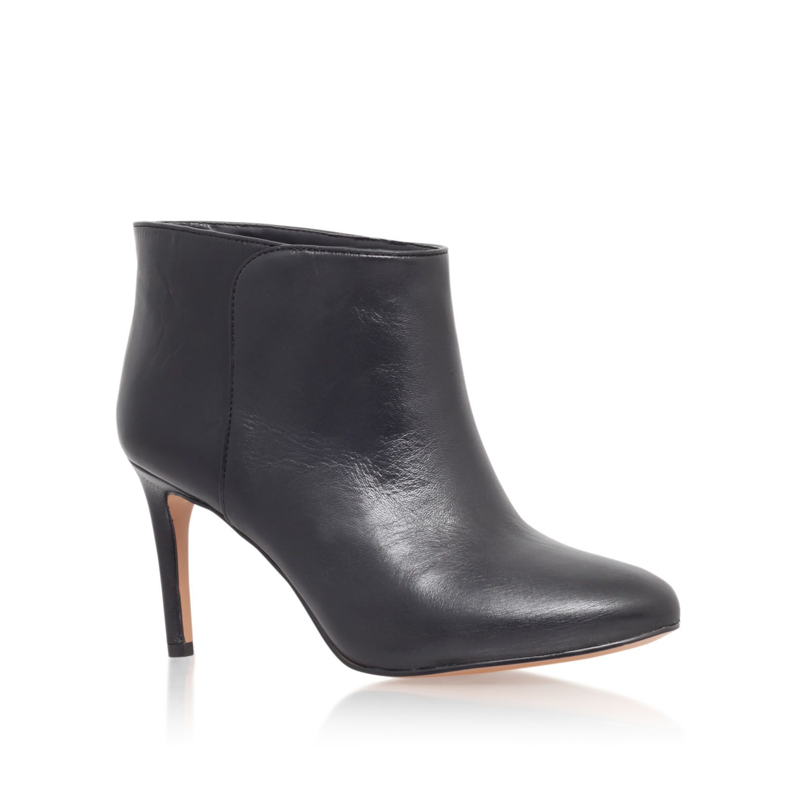 nine west valid high heel ankle boots in black lyst