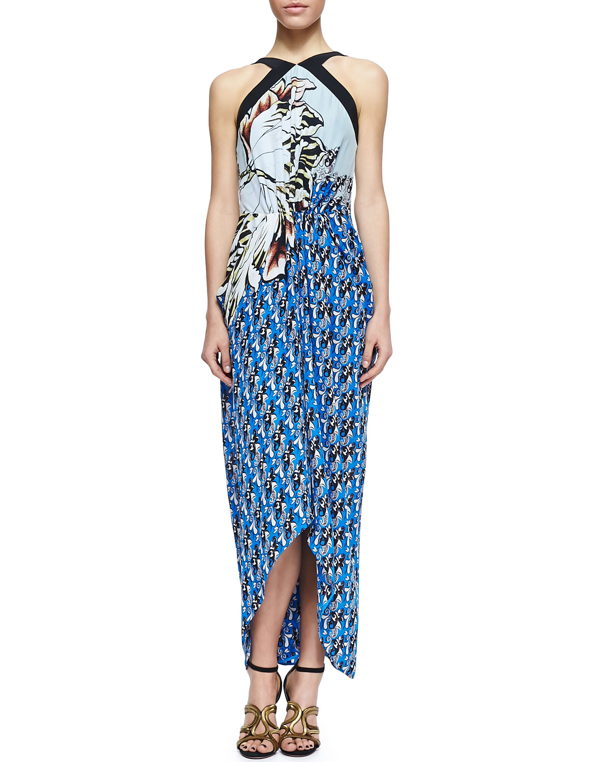 Sarong Dresses with Sleeves