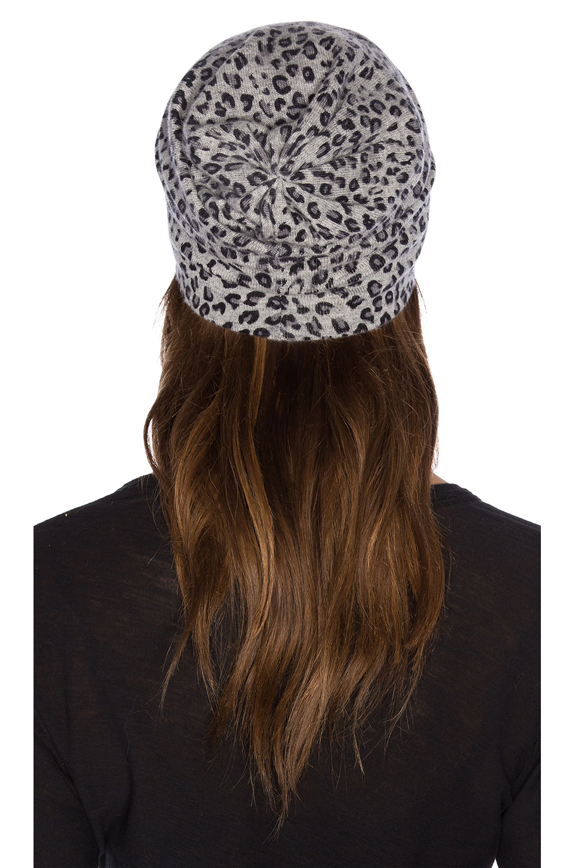 54321fd77eda Autumn Cashmere Leopard Print Beanie - Lyst