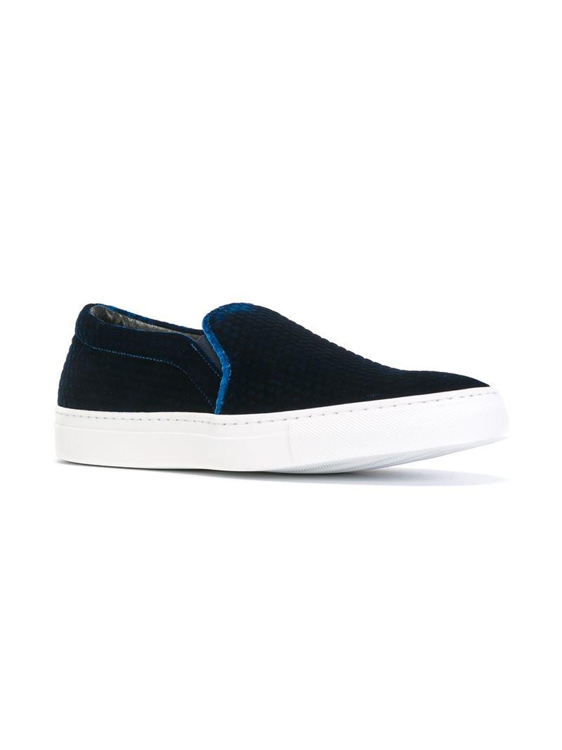 Velours Joshua Ponceuses Slip-on Chaussures De Sport - Noir qjGfdcx8i