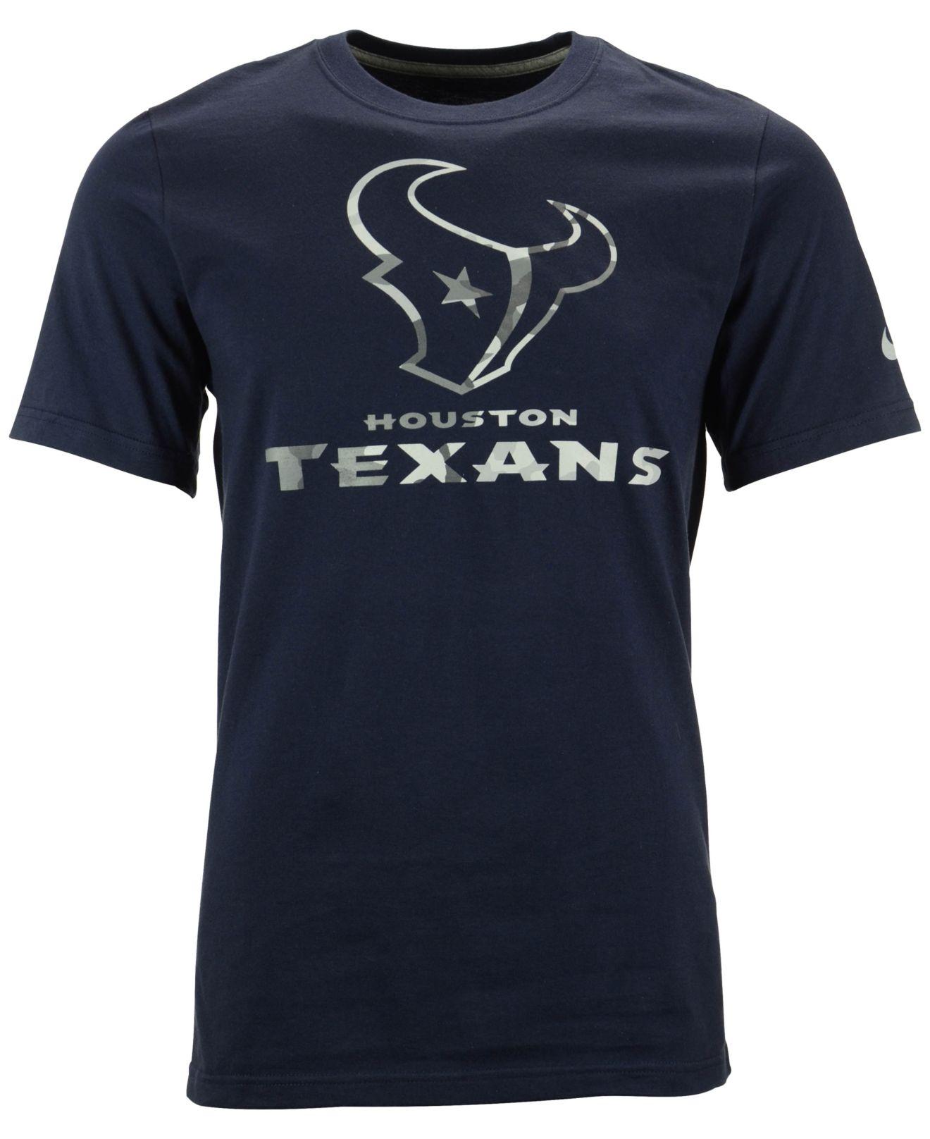 Nike Men 39 S Short Sleeve Houston Texans Fly Over Pack T