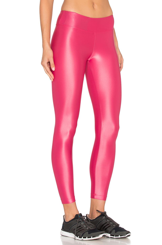 koral activewear lustrous legging in red