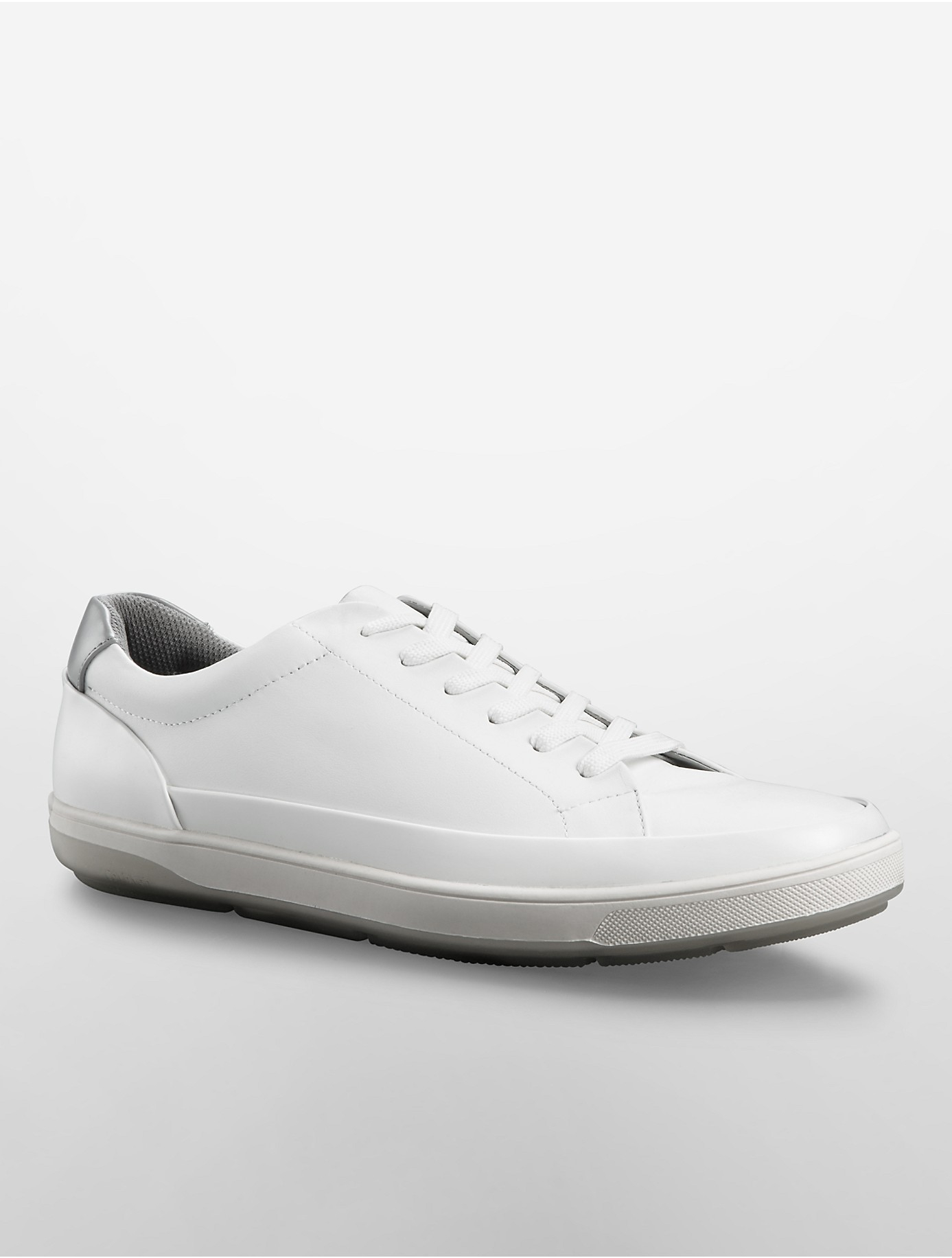 Lyst - Calvin Klein White Label Ward Sneaker in White for Men