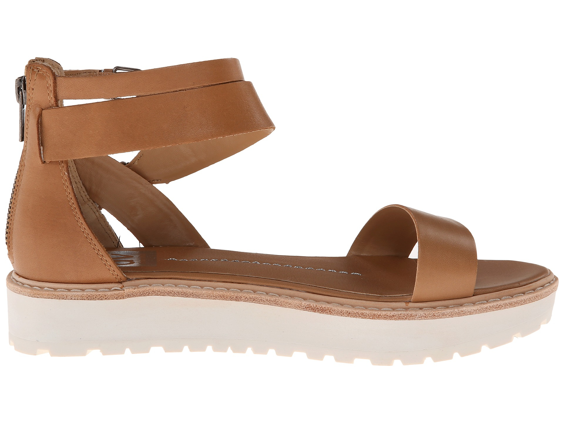 Dolce Vita Womens Nelly Nude Leather Sandals Size 10