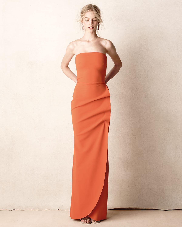 cb6b06e0f92 Lyst - La Petite Robe Di Chiara Boni Clotilde Sleeveless Long Gown ...