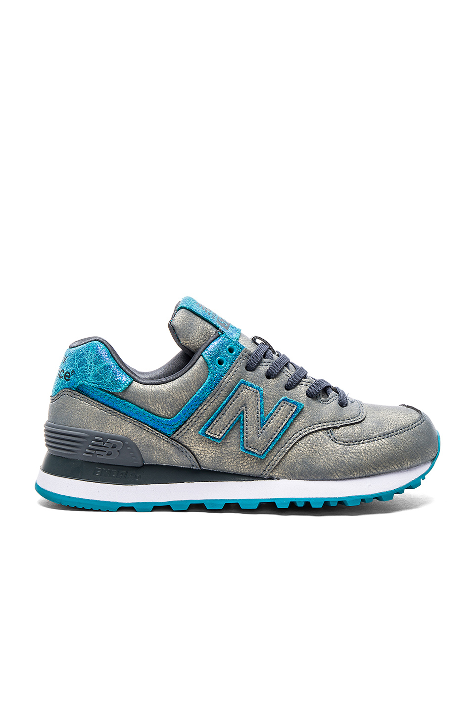 new balance women's 574 mineral glow casual sneakers
