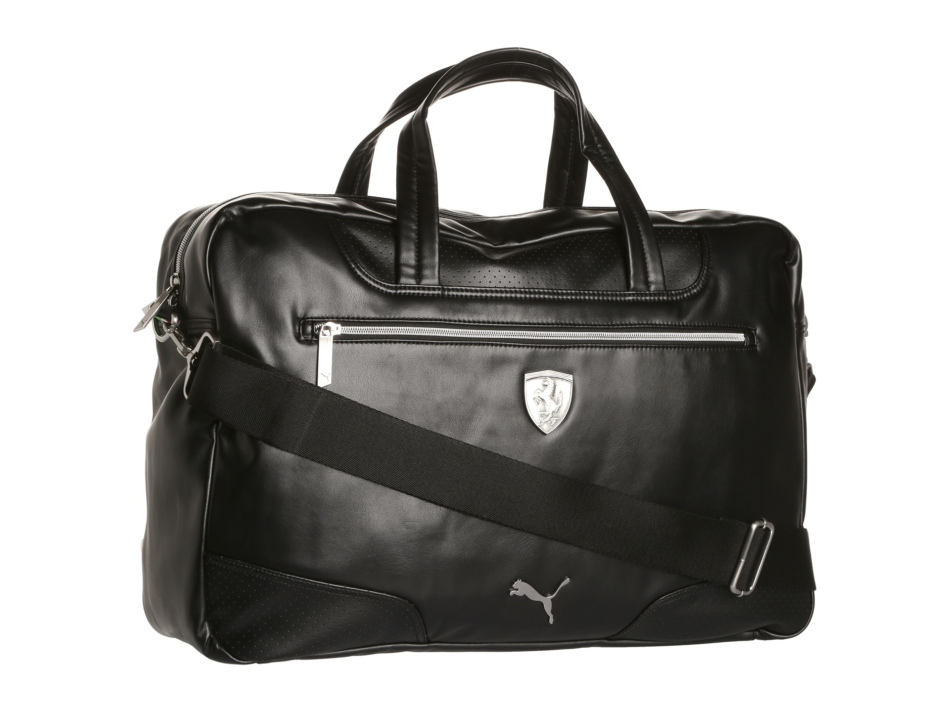 Puma Duffle Bag Leather | Sabis Bulldog Athletics
