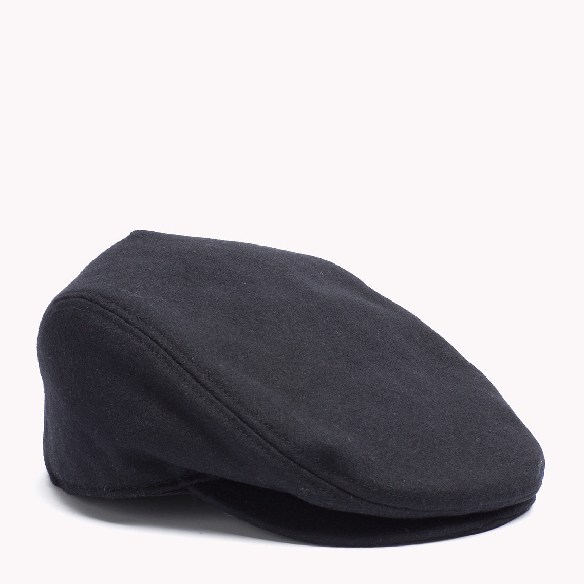 Tommy Hilfiger Wool Blend Cap in Black for Men - Lyst fdbc6106baf