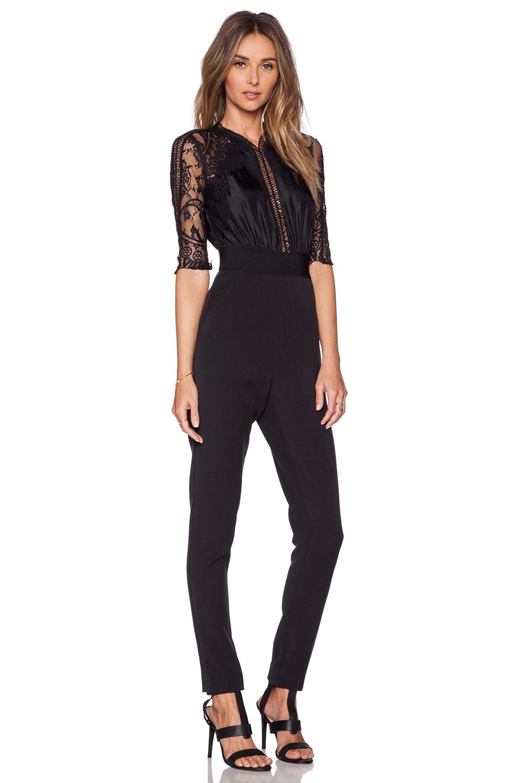 Black Jumpsuit With Lace