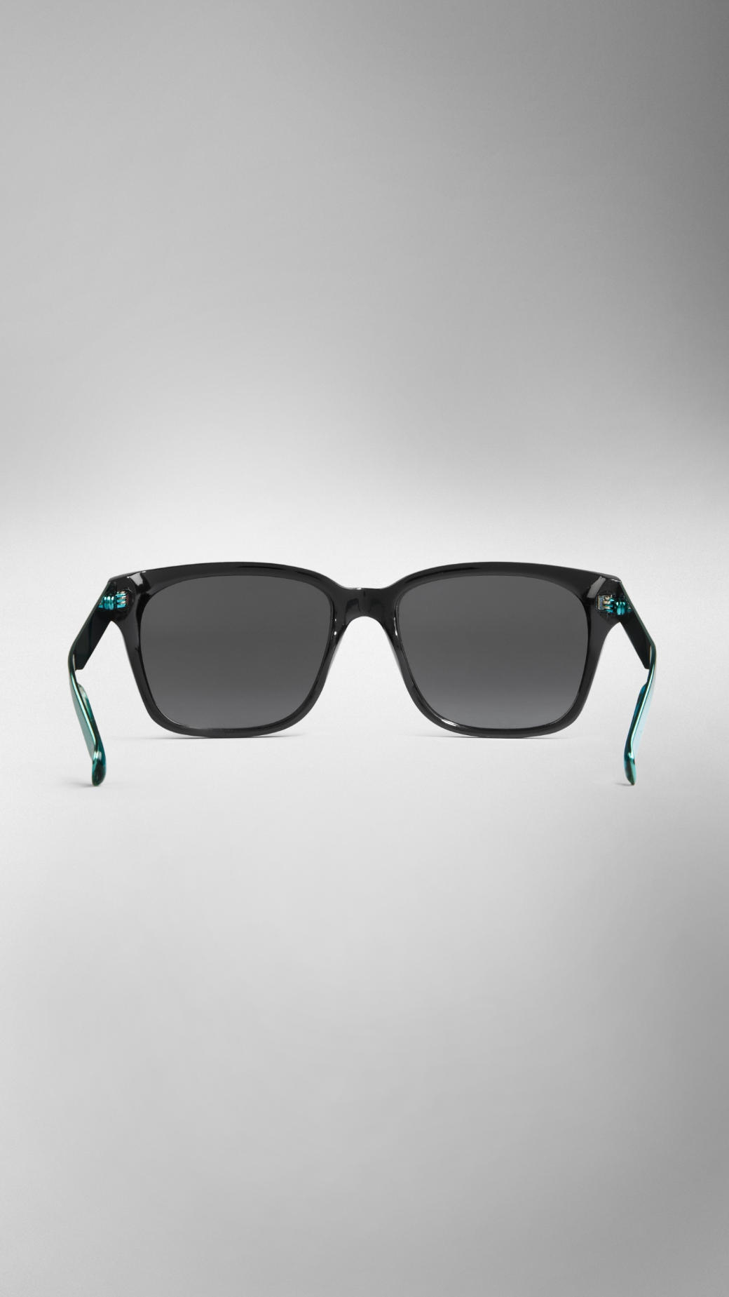 81a87d70c197 Lyst - Burberry Spark Square Frame Sunglasses in Black for Men