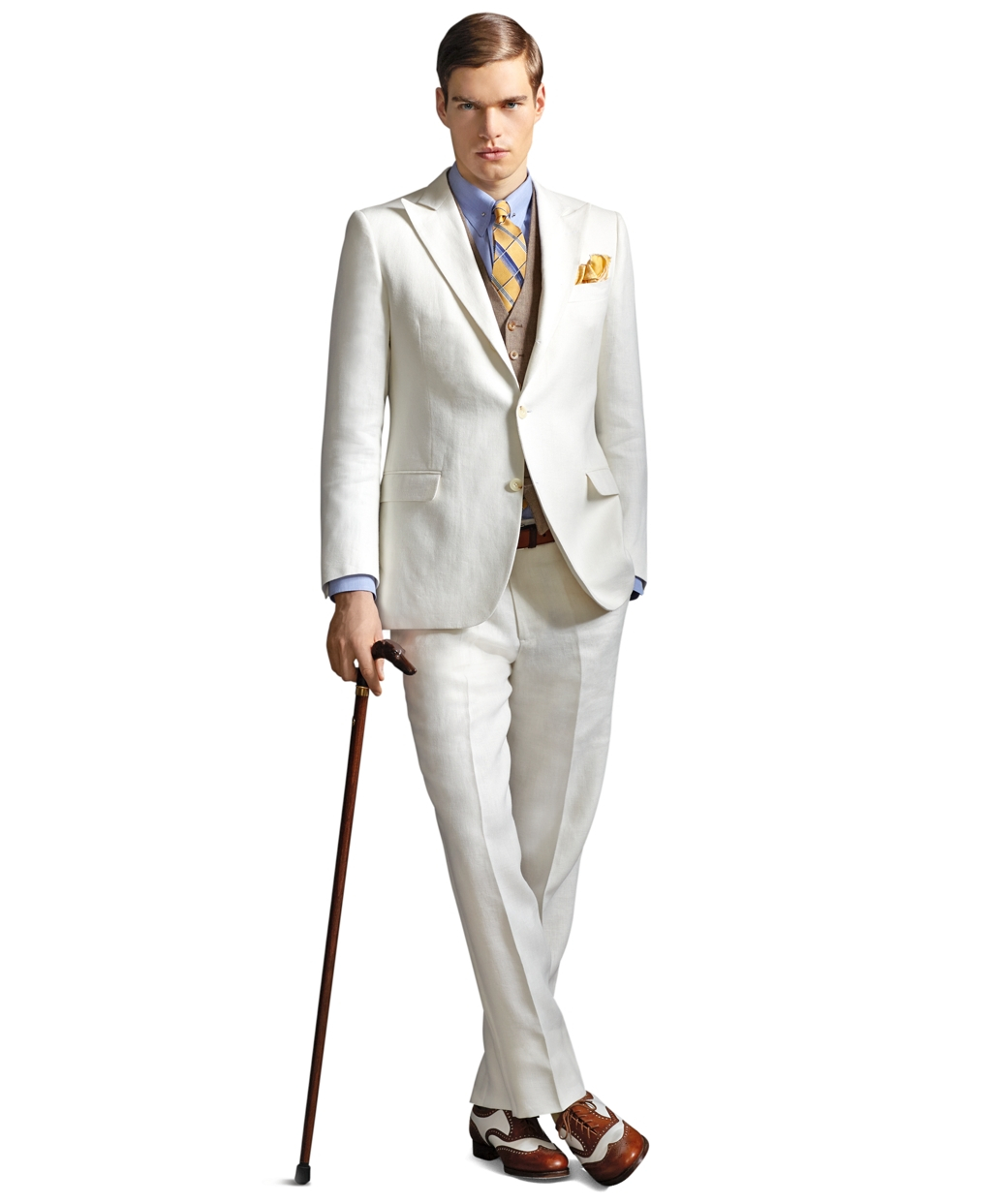 lyst  brooks brothers the great gatsby collection ivory