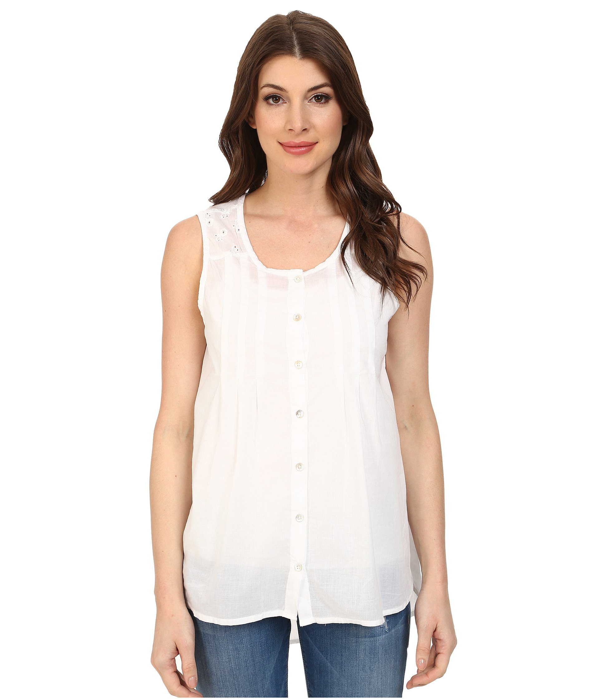 Shop women's cami and sleeveless tops, from women's camisoles to peplum tops for spring/summer here. Find frill tops, tie shoulder and crop tops here.