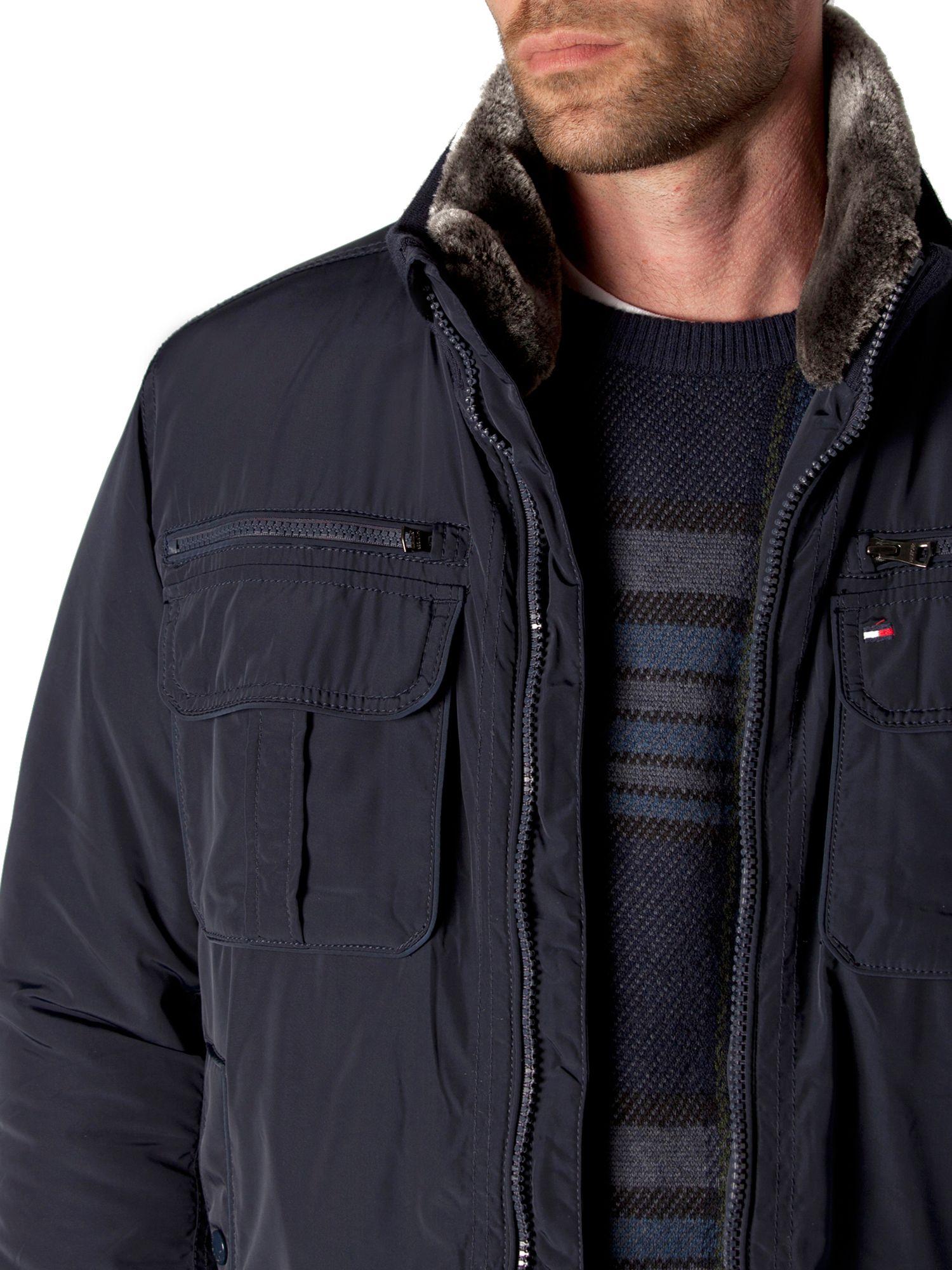 tommy hilfiger ken bomber jacket in blue for men lyst. Black Bedroom Furniture Sets. Home Design Ideas