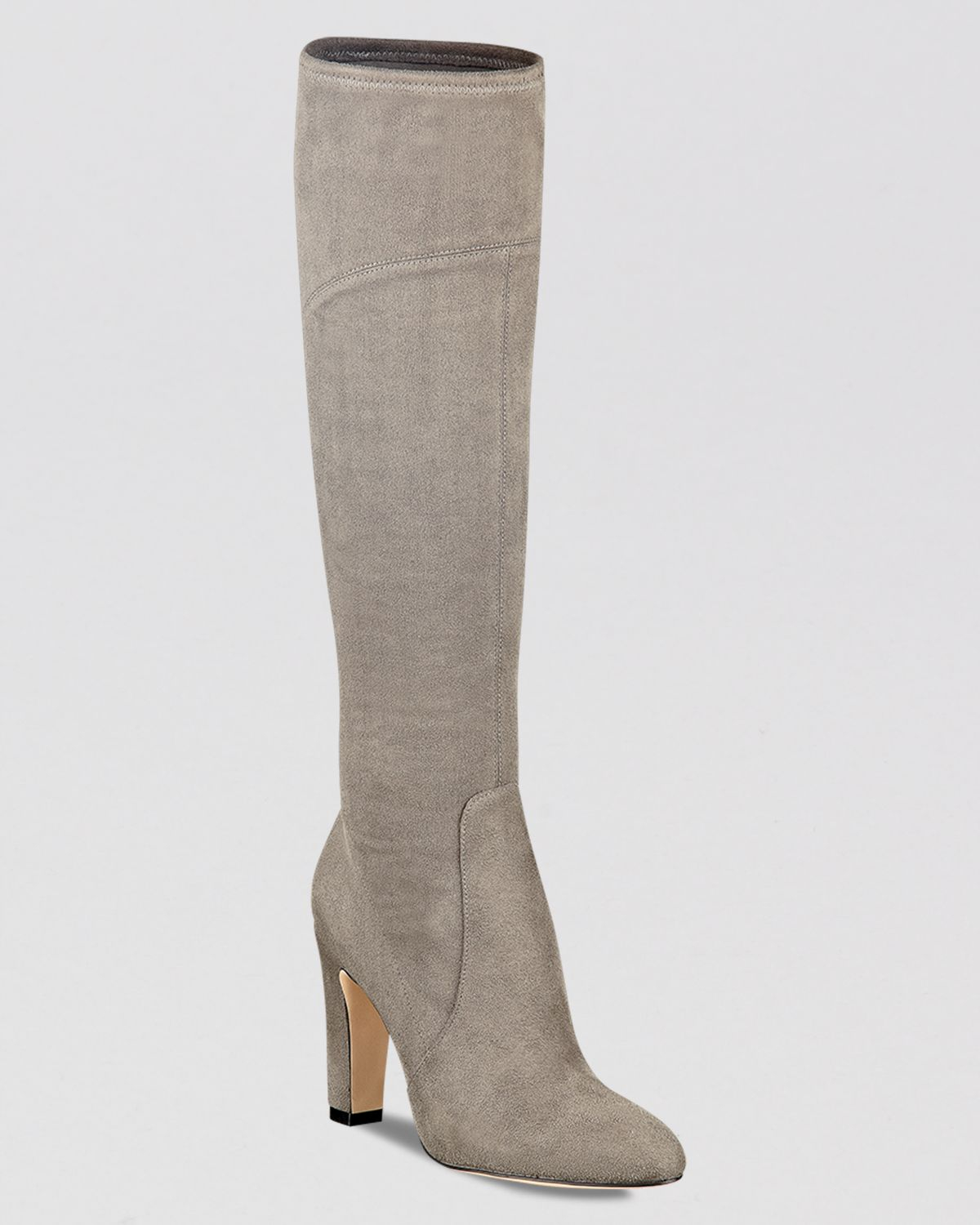 ivanka dress boots sennet high heel in gray