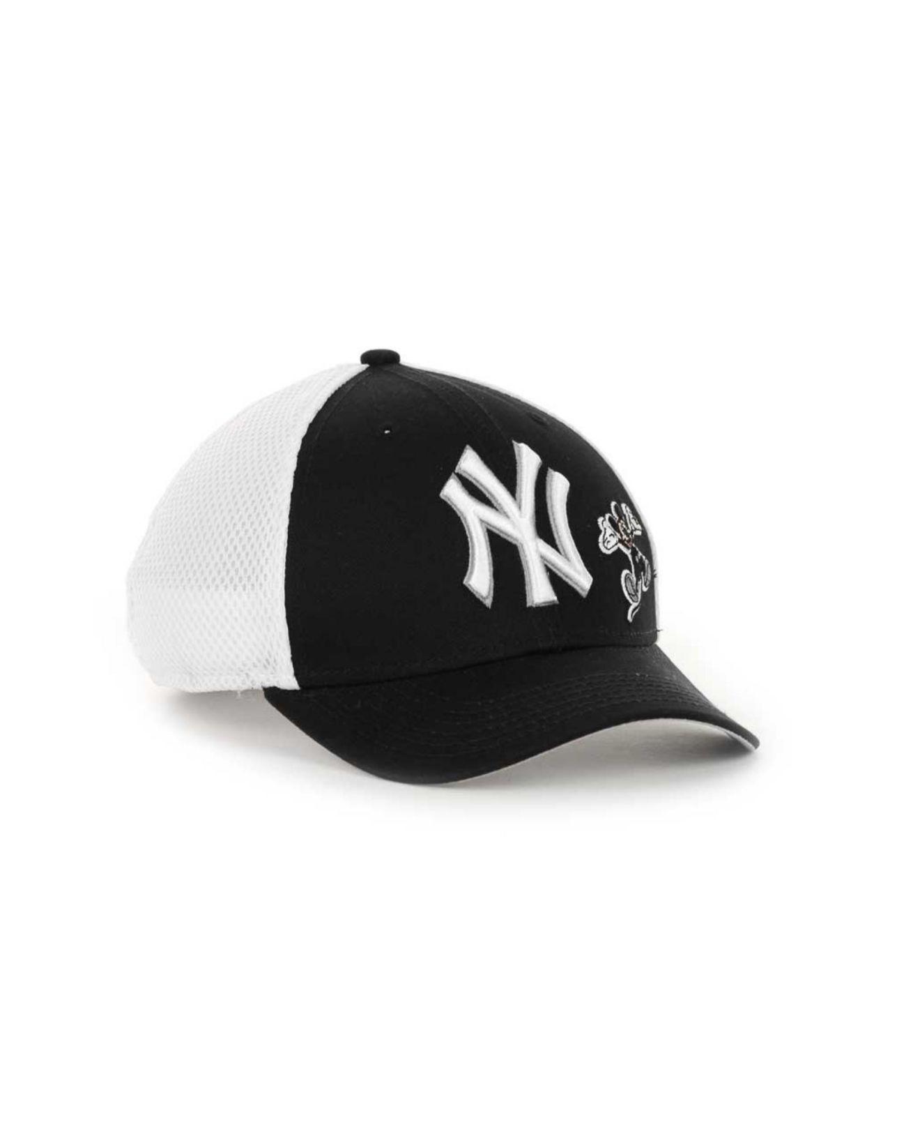 815857995ca ... lyst ktz boys new york yankees disney neo 12 9forty cap in blue