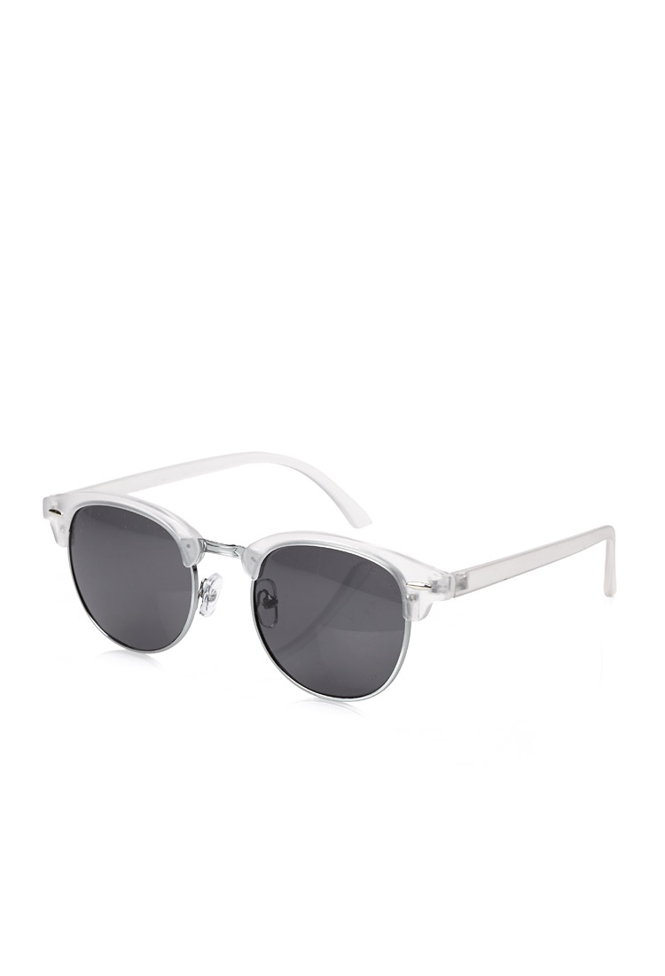 Lyst - Forever 21 Acrylic Frame Clubmaster Sunglasses for Men