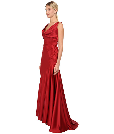 d058fd776c0 Vivienne Westwood Red Label Stretch Satin Long Amber Dress in Red - Lyst