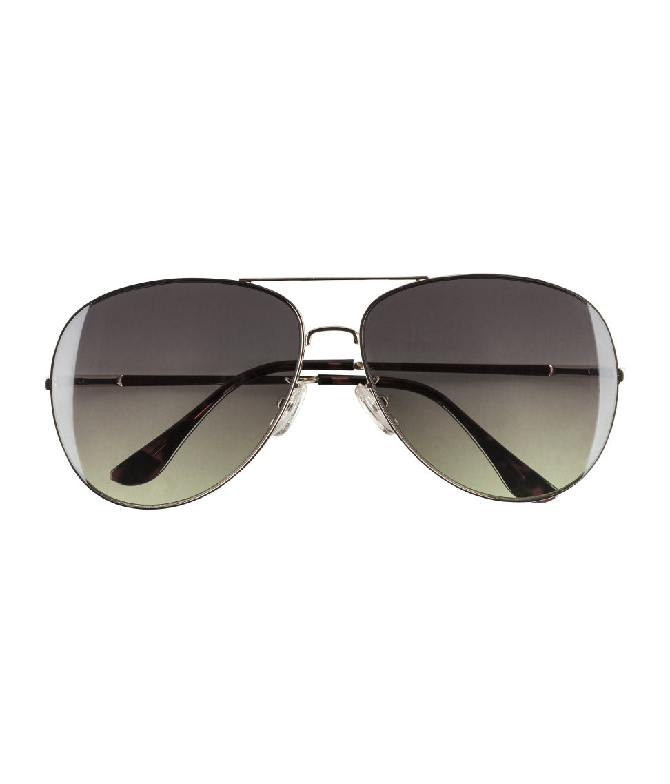 ff6c727e579a H&M Sunglasses in Metallic for Men - Lyst