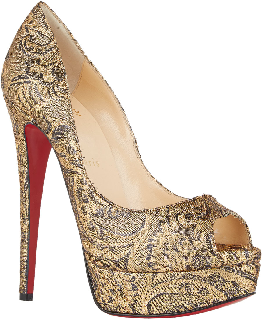 fd6747e7301f christian louboutin python print leather heels simple pump
