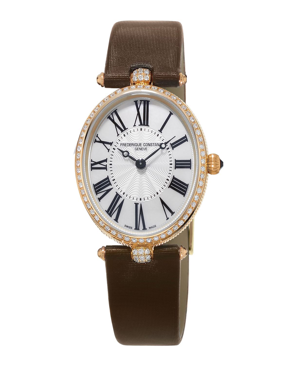 Frederique constant ladies 39 classics art deco rose gold for Deco maison rose gold