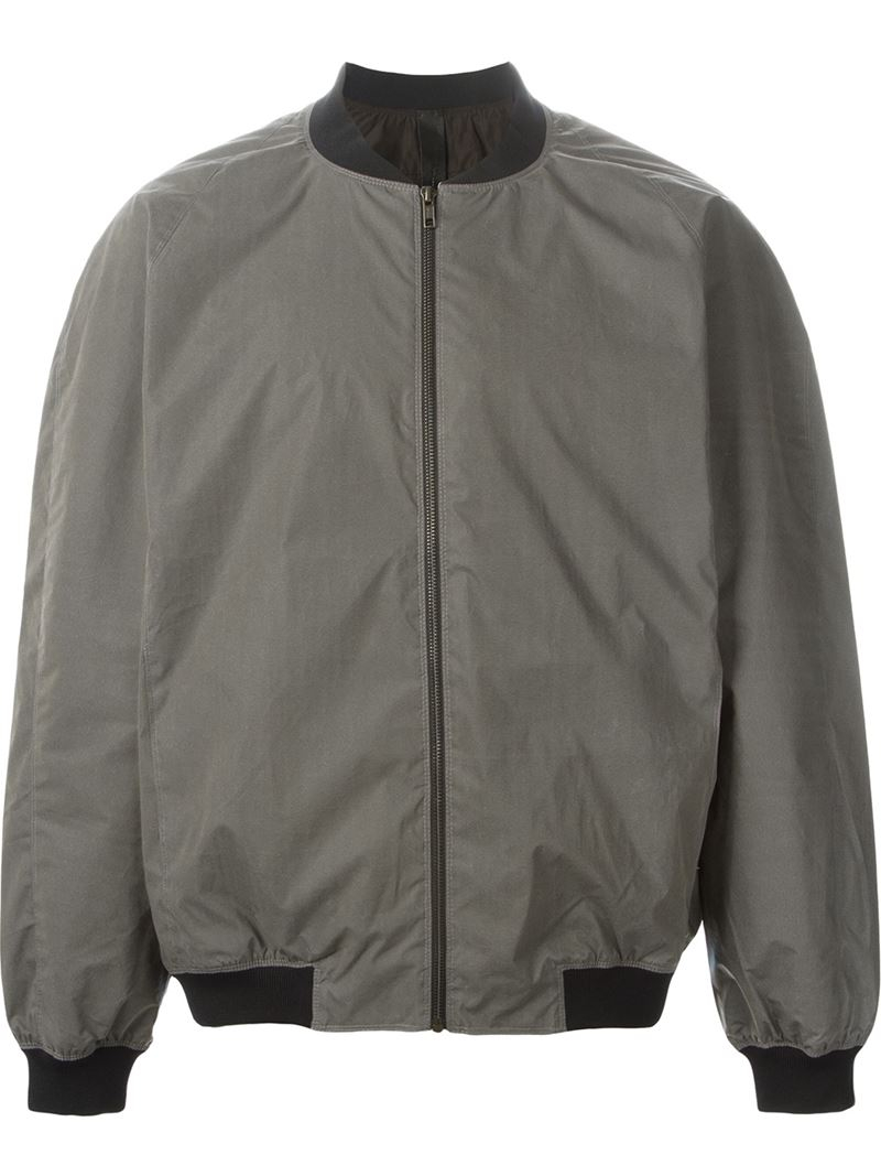 Y. project Reflective Waterproof Bomber Jacket in Green for Men | Lyst